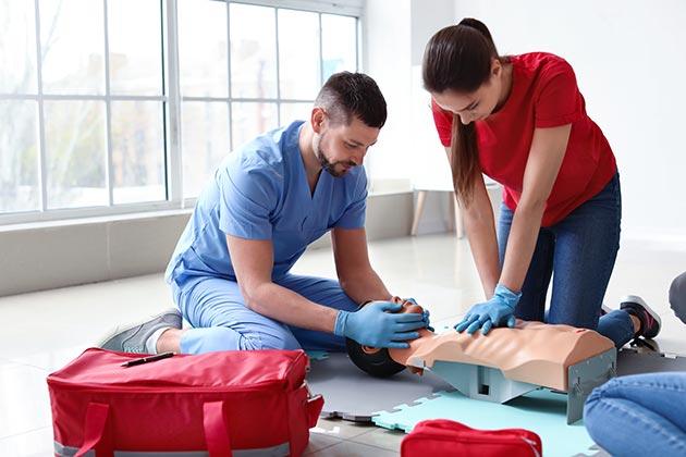 basic first aid training